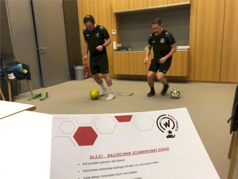 Online-Training beim VfB Oberweimar