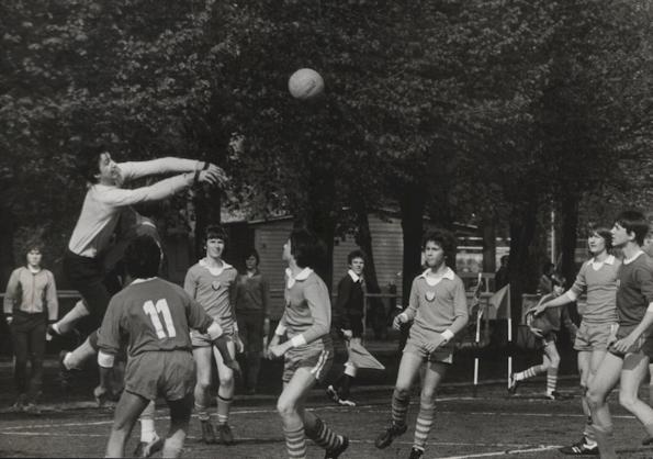 Nachwuchsmannschaft der BSG Motos Süd Oberweimar 1983 | Vereinschronik VfB Oberweimar