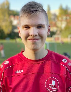 Nachwuchstrainer Linus Weimer | VfB Oberweimar
