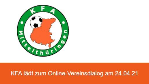 KFA-Dialog online zum Spielbetrieb