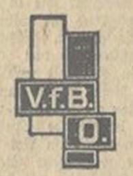 Vereinslogo 1928 | Vereinschronik VfB Oberweimar