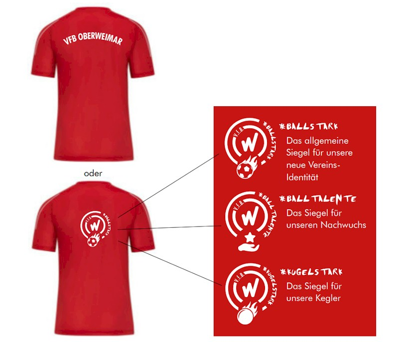Vereinskleidung VfB Oberweimar