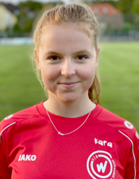 Juniorinnentrainer Kara Hellige   VfB Oberweimar