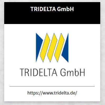 Neuer Sponsor des VfB Oberweimar - TRIDELTA GmbH