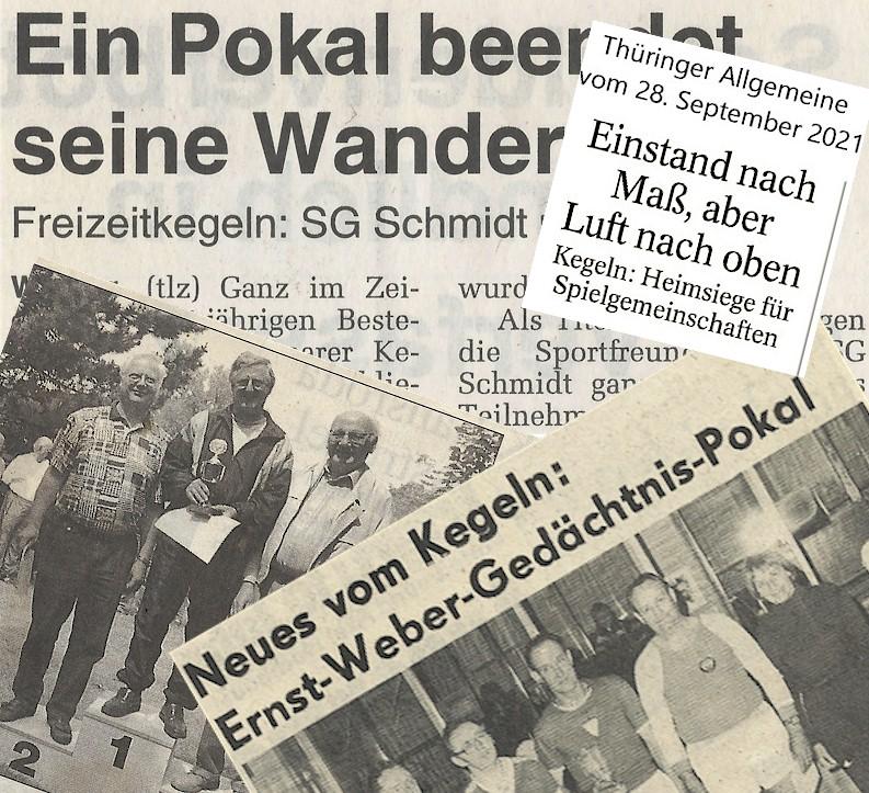 Kegeln beim VfB Oberweimar