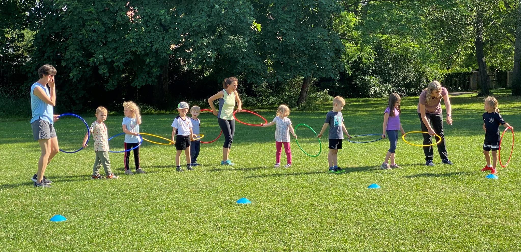 Kindersport beim VfB Oberweimar