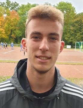 KFA-Schiedsrichter Yannik Hoffmann